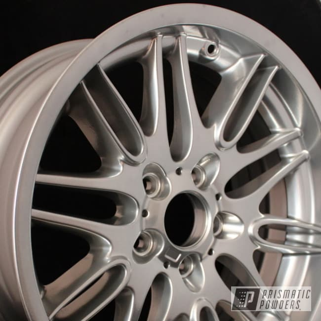 Powder Coating: Wheels,Custom,Clear Vision PPS-2974,SUPER CHROME USS-4482,chrome,BMW M5 Wheels,powder coating,powder coated,Grey,Prismatic Powders,Black Chrome I PPB-4373