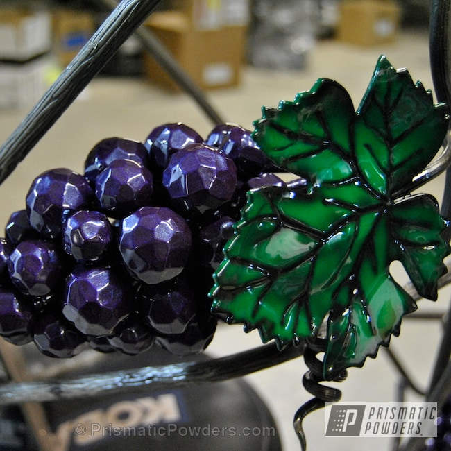 Powder Coating: Clear Vision PPS-2974,Custom Mail Box,Illusion Green PMS-4516,Art,Illusion Green box,Cedar Purple PPB-5782,Mail Box