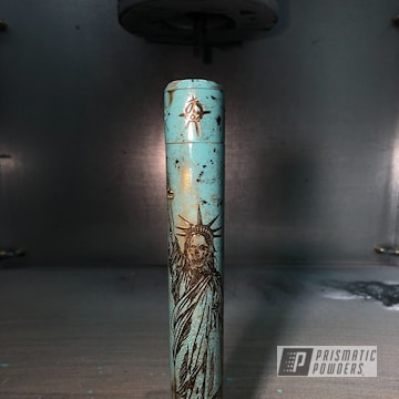 Powder Coated Patina Effect In Pss-4063, Umb-1807 And Pmb-1081