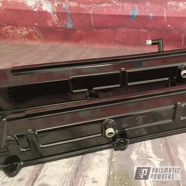 Powder Coating: Automotive,Valve Covers,Ink Black PSS-0106,Automotive Parts