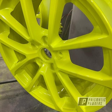 Powder Coated Two Stage Application Wheels In Pss-5690 And Pps-4765