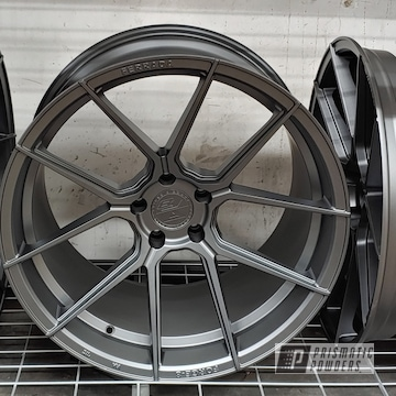 Powder Coated Ferrada Wheels In Umb-6578
