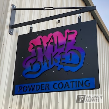 Powder Coated Custom Metal Sign