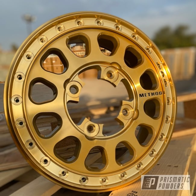 Powder Coated Utv Method Wheels In Pps-5139