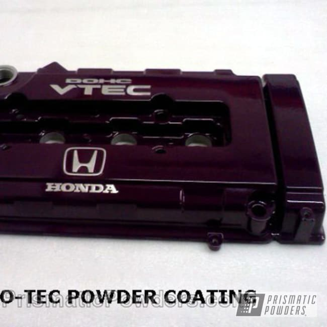 Honda Vtec Valve Cover In Grape Ape