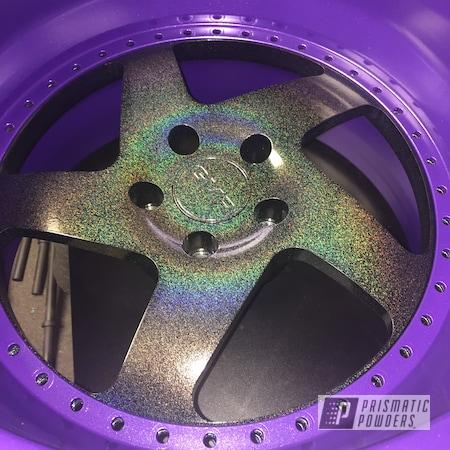 "Powder Coating: Wheels,20"" Wheels,City Lights PMB-2689,Two Tone Wheels,Two Tone,Alex the Grape PMB-3082"
