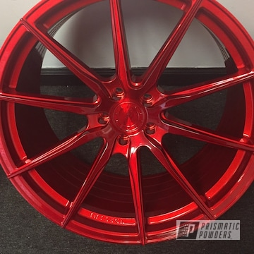 Powder Coated Wheel In Upb-1453