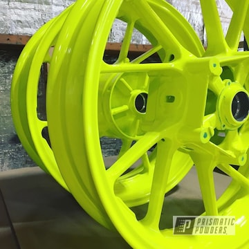 Powder Coated Motorcycle Wheels In Pss-1104