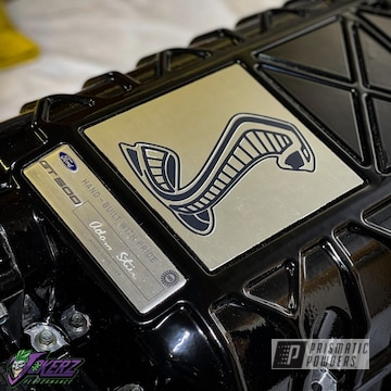 Powder Coated Supercharger In Pss-0106