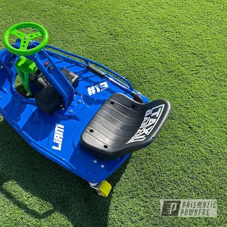 Powder Coating: Drift Cart,Bubba PSS-3042,Taxi Garage,Two Tone,Crazy Cart,Kiwi Green PSS-5666,Go Cart