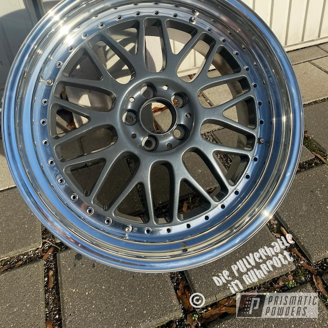 "Powder Coating: Wheels,Rims,Heavy Steel PMS-1366,18"" Aluminum Rims,Audi TT"