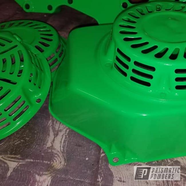 Powder Coating: Go Cart Racing Parts,Racing Parts,Neon Green,Neon Green PSS-1221,Neon,Go Cart,Small Engine Parts