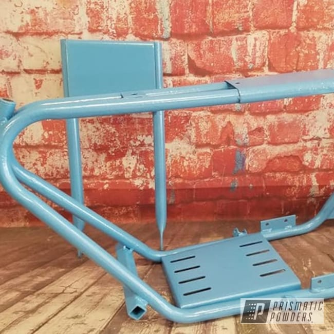 Powder Coated Motorcycle Frame In Pmb-4117
