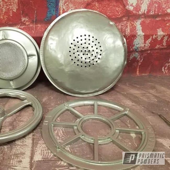 Powder Coating: Vintage,Crushed Silver PMB-1544,Vintage Parts,Miscellaneous