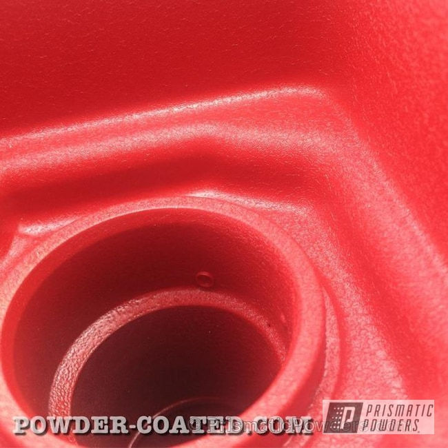 Powder Coating: Automotive,Hotsy Red EWB-9141,HOTSY RED HONDA VALVE COVER,DOHC VTEC,DOHC,Valve Cover