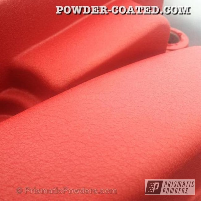 Powder Coating: Automotive,Hotsy Red EWB-9141,HOTSY RED HONDA VALVE COVER,DOHC VTEC,DOHC,Valve Cover