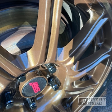 Powder Coated Sti Wheels In Umb-4133