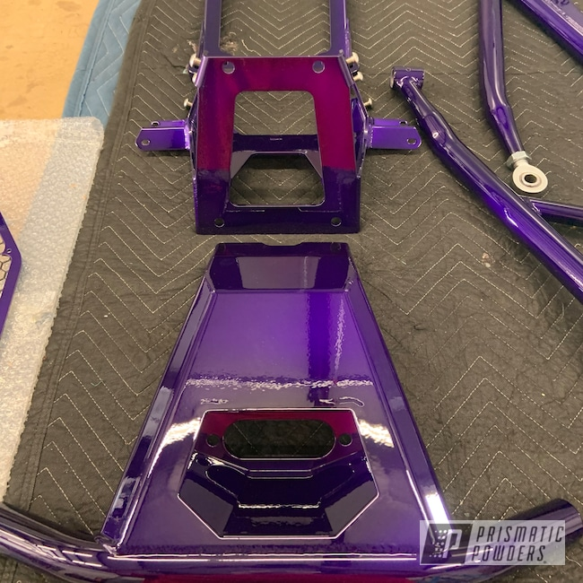 Powder Coating: Illusion Purple PSB-4629,Custom UTV,Can-Am ATV Parts,Clear Vision PPS-2974,Can-Am Off Road,Can-Am