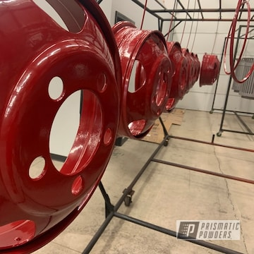 Powder Coated Dually Split Rims In Pss-2266