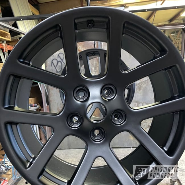 "Powder Coating: Wheels,20"" Wheels,Dodge,Silk Satin Black HSS-1336,Aluminum Wheels"
