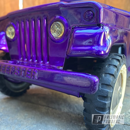 Powder Coating: Jeep,Lollypop Purple PPS-1505,Toy