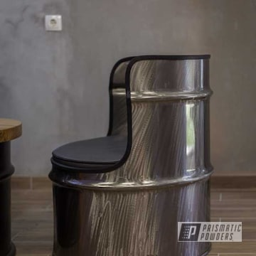 Powder Coated Oil Drum Seat In Pps-2974