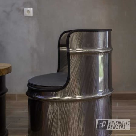 Powder Coating: Clear Vision PPS-2974,Oil Drum Seat,Miscellaneous