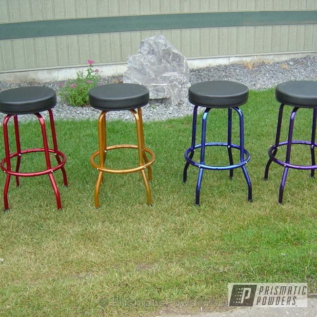 Powder Coating: Lollypop Tangelo PPS-2291,LOLLYPOP RED UPS-1506,Bar Stools,Furniture