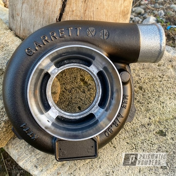 Powder Coated Garrett Turbo In Pcb-4333