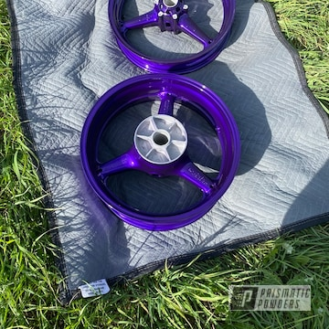 Powder Coated Wheels In Pss-10300 And Pps-4442