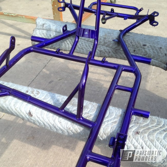 Powder Coating: Clear Vision PPS-2974,SUPER CHROME USS-4482,chrome,KARTING,Bentley Blue PPB-4711,Miscellaneous
