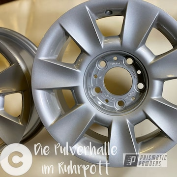 Powder Coated Bmw Rims In Pmb-6525 And Pps-2974