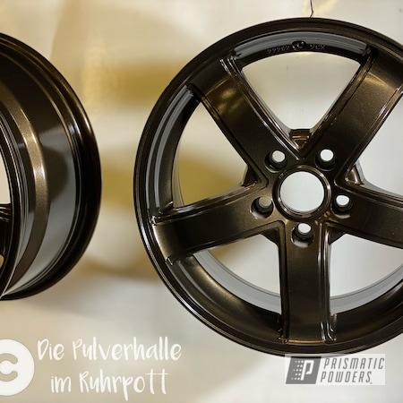 "Powder Coating: Wheels,Satin Bronze Chrome PMB-10182,Clear Vision PPS-2974,Rims,18"" Aluminum Rims,Aluminum Wheels"