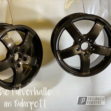 Powder Coated Wheels In Pmb-10182 And Pps-2974