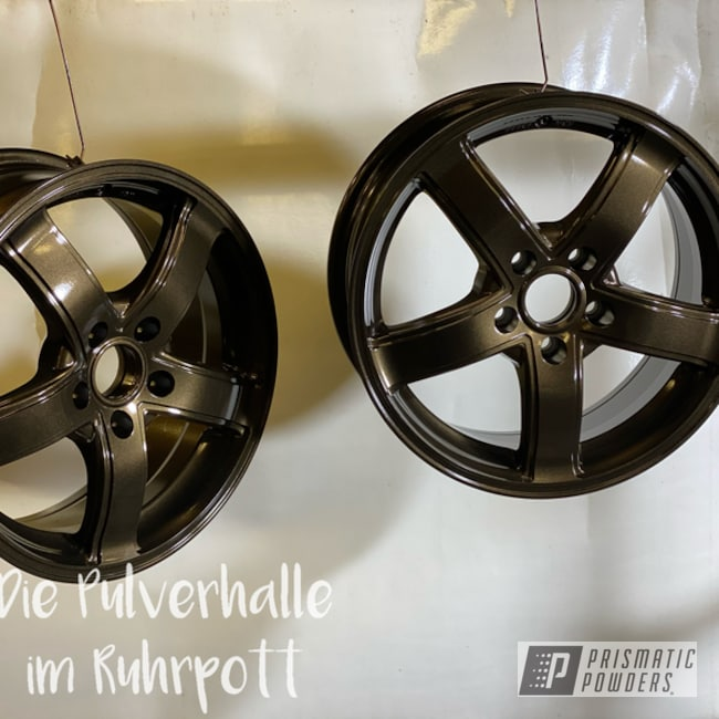 "Powder Coating: Wheels,Satin Bronze Chrome PMB-10182,Clear Vision PPS-2974,Rims,18"" Aluminum Rims,Aluminum Wheels"