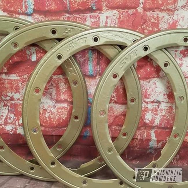 Powder Coated Wheel Locks In Pmb-6488