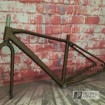 Powder Coated Bicycle Frame In Pwb-2878