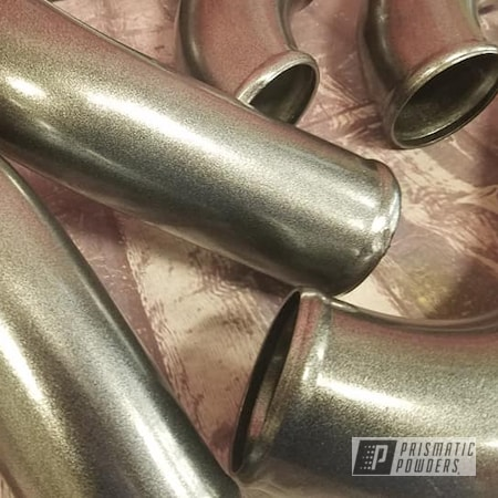 Powder Coating: Speedway Black PMB-1842,Automotive,Turbo Pipes,Intake Pipes,Automotive Parts