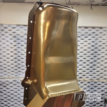 Powder Coated Oil Pan In Ppb-2262 And Pss-10300