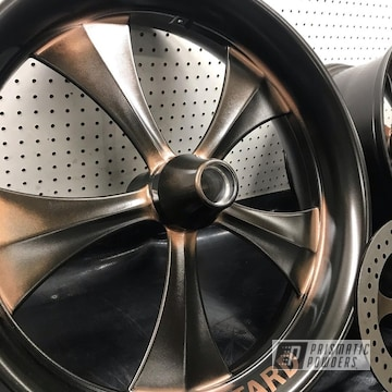 Powder Coated Harley Davidson Wheels In Umb-6536