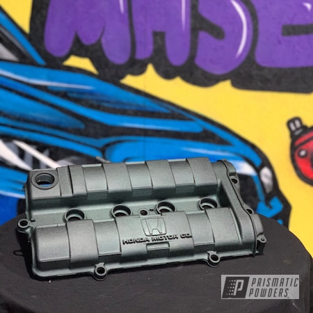 Powder Coating: Automotive,Valve Covers,Civic,Car,Honda,Desert Admiral PWB-3052,Car Parts,Valve Cover