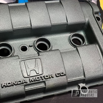 Powder Coated Honda Valve Cover In Pwb-3052
