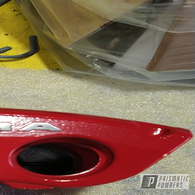 Powder Coating: Automotive,Flame Red PSS-5082,Brake Calipers