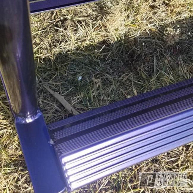 Powder Coating: Ladder,Dock Ladder,Purple,Swim Dock,EXTREME PURPLE UMB-2599