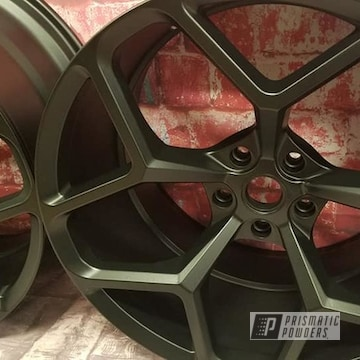 Powder Coated Wheels In Uss-1522