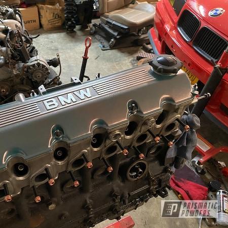 Powder Coating: Automotive,OCALA COPPER PVB-4695,BMW,BMW E30 Valve Cover,Valve Cover