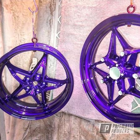 Powder Coating: Illusion Purple PSB-4629,Wheels,Automotive,Motorcycles,Illusion Purple,Aluminum Wheels