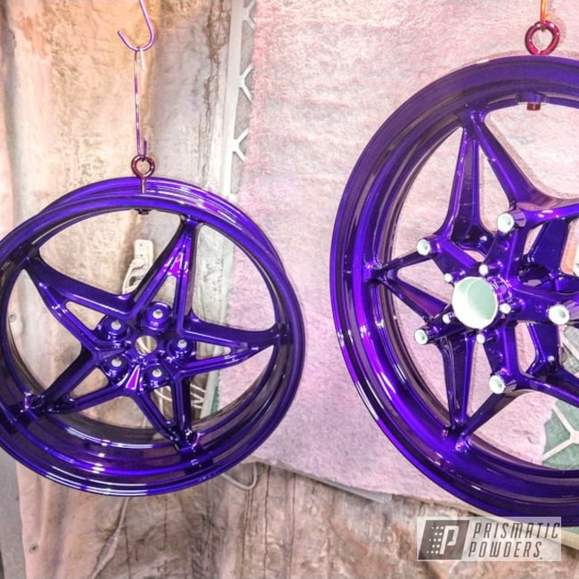 Powder Coating: Illusion Purple PSB-4629,Wheels,Automotive,Motorcycles,Illusion Purple,Aluminum Wheels