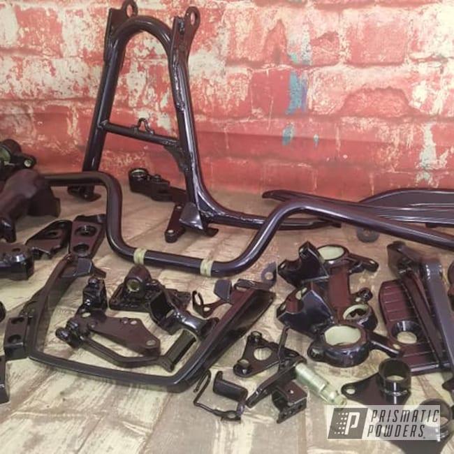 Powder Coating: Automotive,Motorcycle Frame,Motorcycle Parts,Honda Motorcycle,Honda,Purple,Bike Parts,EXTREME PURPLE UMB-2599