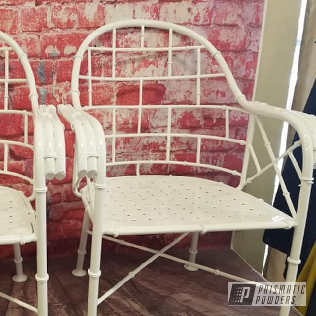 Powder Coating: Patio Chairs,Outdoor Furniture,Gloss White PSS-5690,Outdoor Patio Furniture